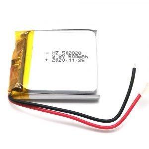 502828 3.8v lithium battery