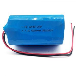 18650 7.4 v 18650 battery pack