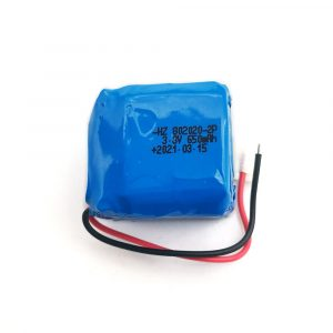802020 3.8v 650mah battery