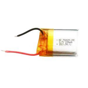 702025 lithium polymer battery 20C